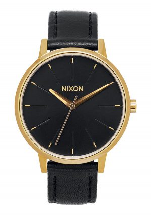 Nixon Kensington Leather Gold/ Black