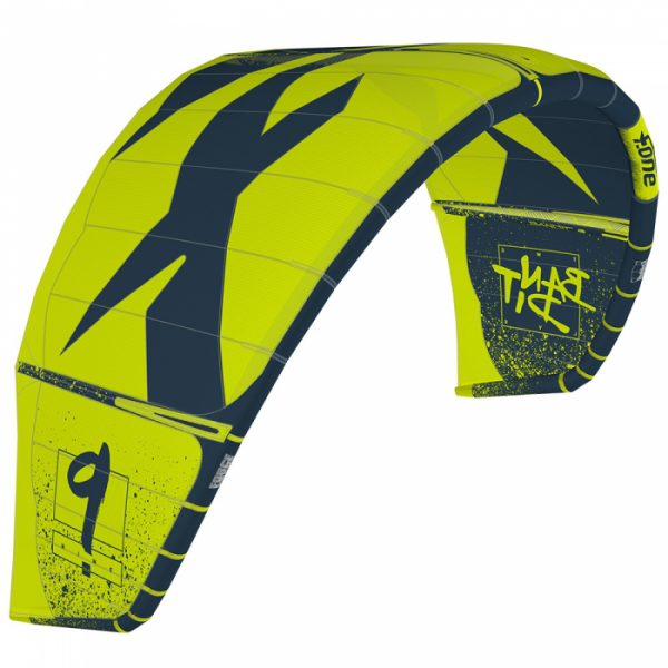 F-one bandit slate lime kite